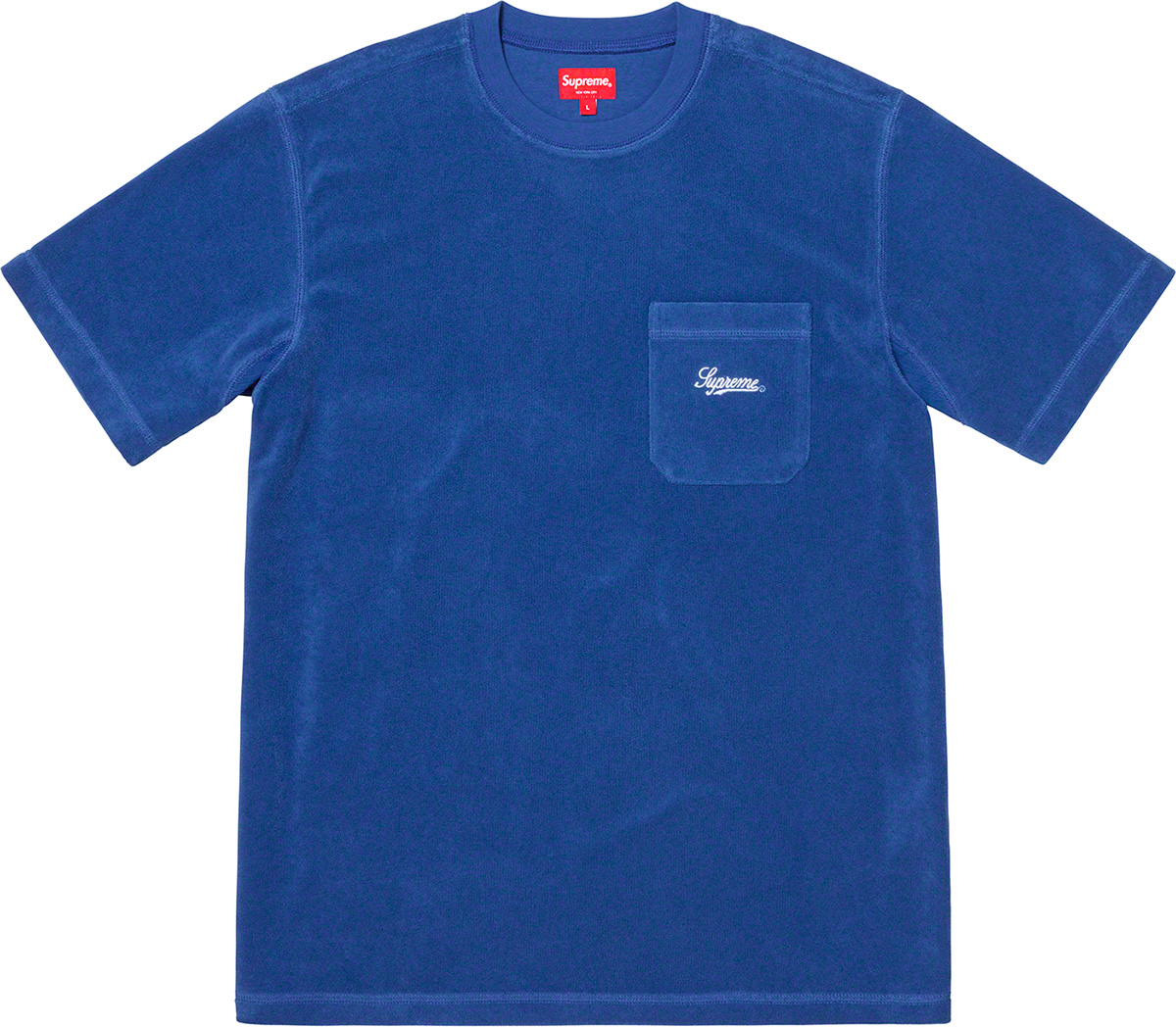 supreme-19ss-spring-summer-terry-pocket-tee