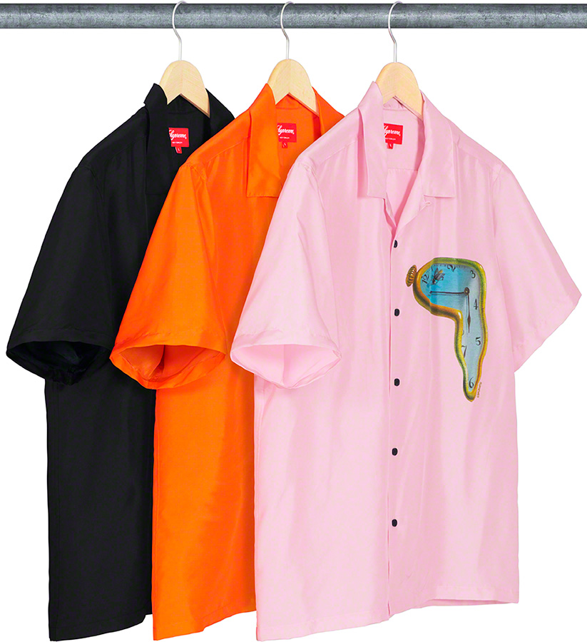 supreme-19ss-spring-summer-the-persistence-of-memory-silk-s-s-shirt