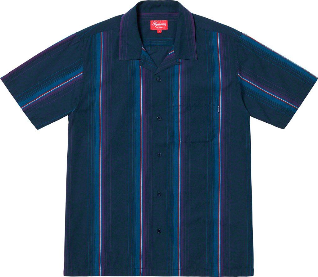 supreme-19ss-spring-summer-vertical-stripe-s-s-shirt