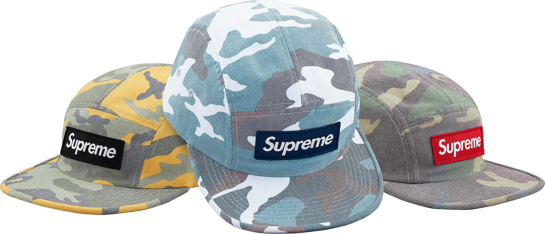 supreme-19ss-spring-summer-washed-out-camo-camp-cap