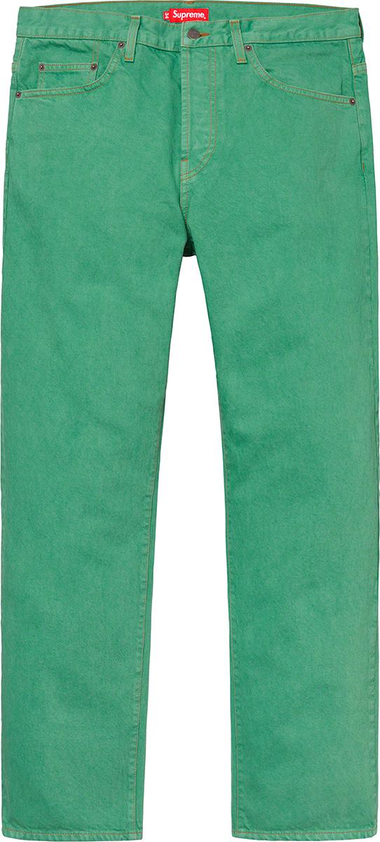 supreme-19ss-spring-summer-washed-regular-jean