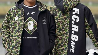 BAPE / A BATHING APE × FCRB 19SS コラボアイテムが3/23に国内発売予定