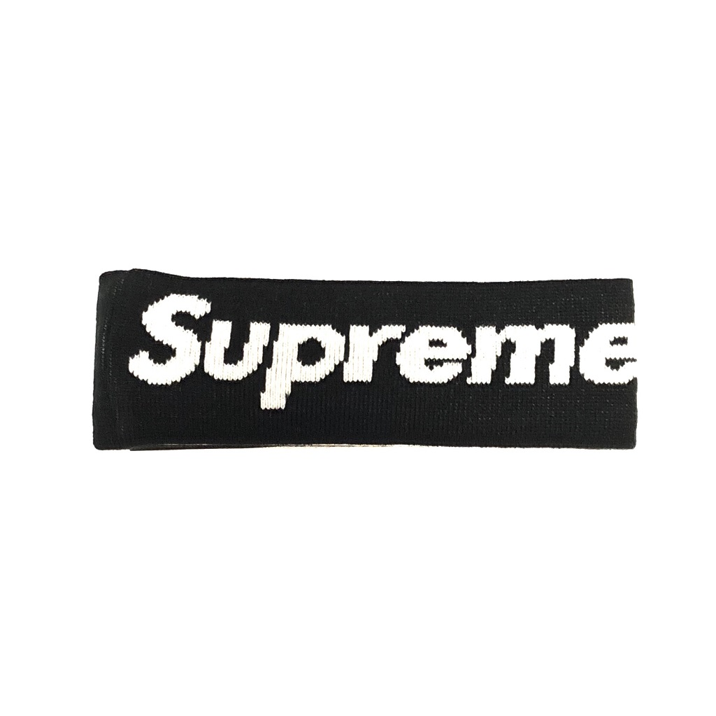 supreme-new-era-big-logo-headband-black-18aw
