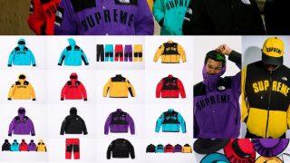 Supreme × THE NORTH FACE 19SS コラボアイテム Part.1が3月30日 Week5に国内発売予定【全8アイテム掲載中】