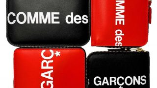 COMME des GARCONS Huge Logo Walletsが4/6にCDG青山店、DSMGで先行発売予定