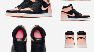 NIKE AIR JORDAN 1 HIGH BLACK CRIMSON TINTが4/11、5/26に国内発売予定【直リンク有り】