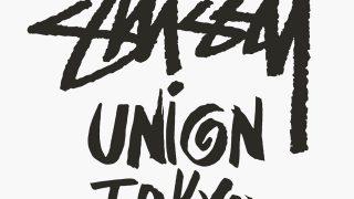 UNION TOKYO × STUSSY ショップオープン1周年コラボアイテムが4/20に国内発売予定