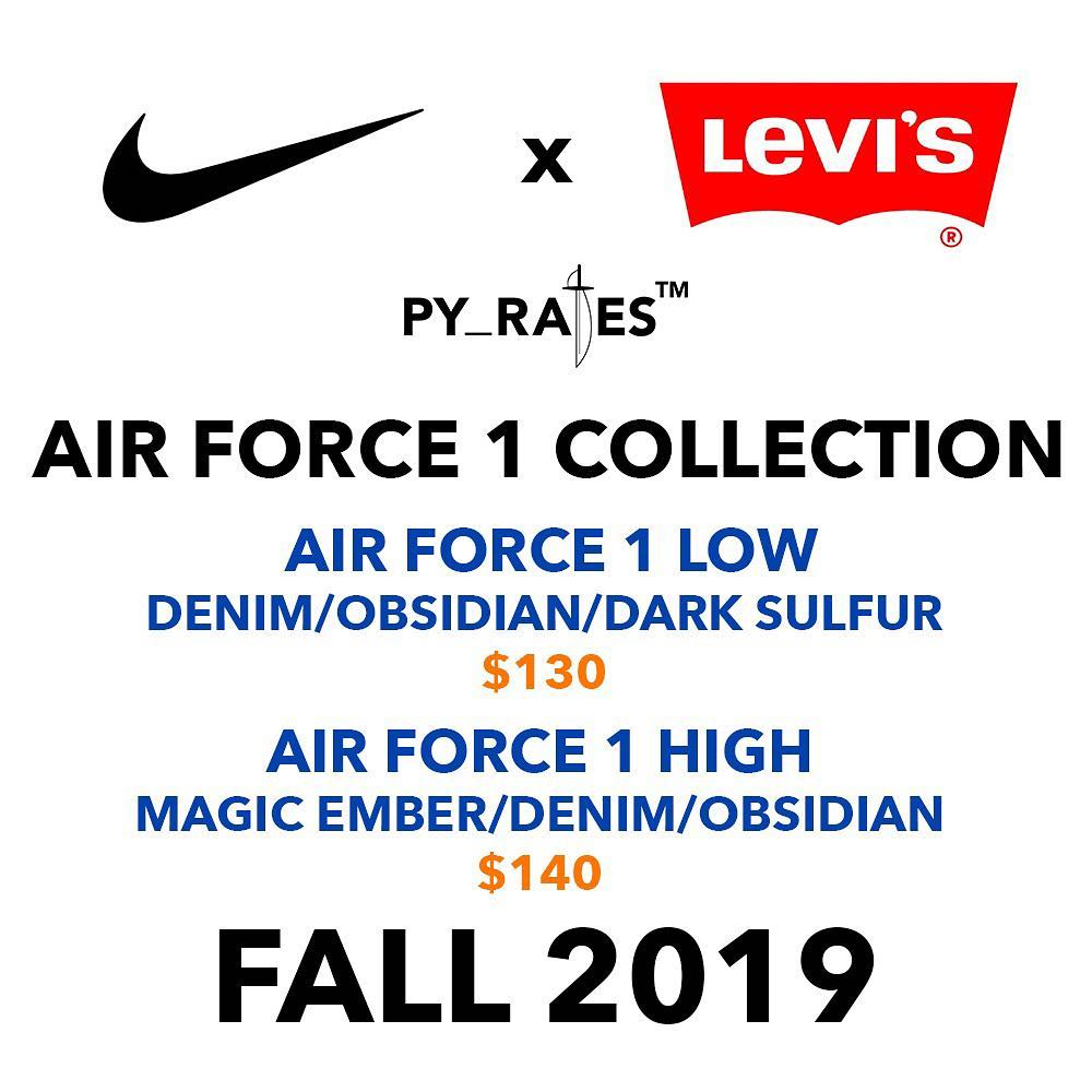 levis-nike-air-force-1-low-high-release-2019-fall