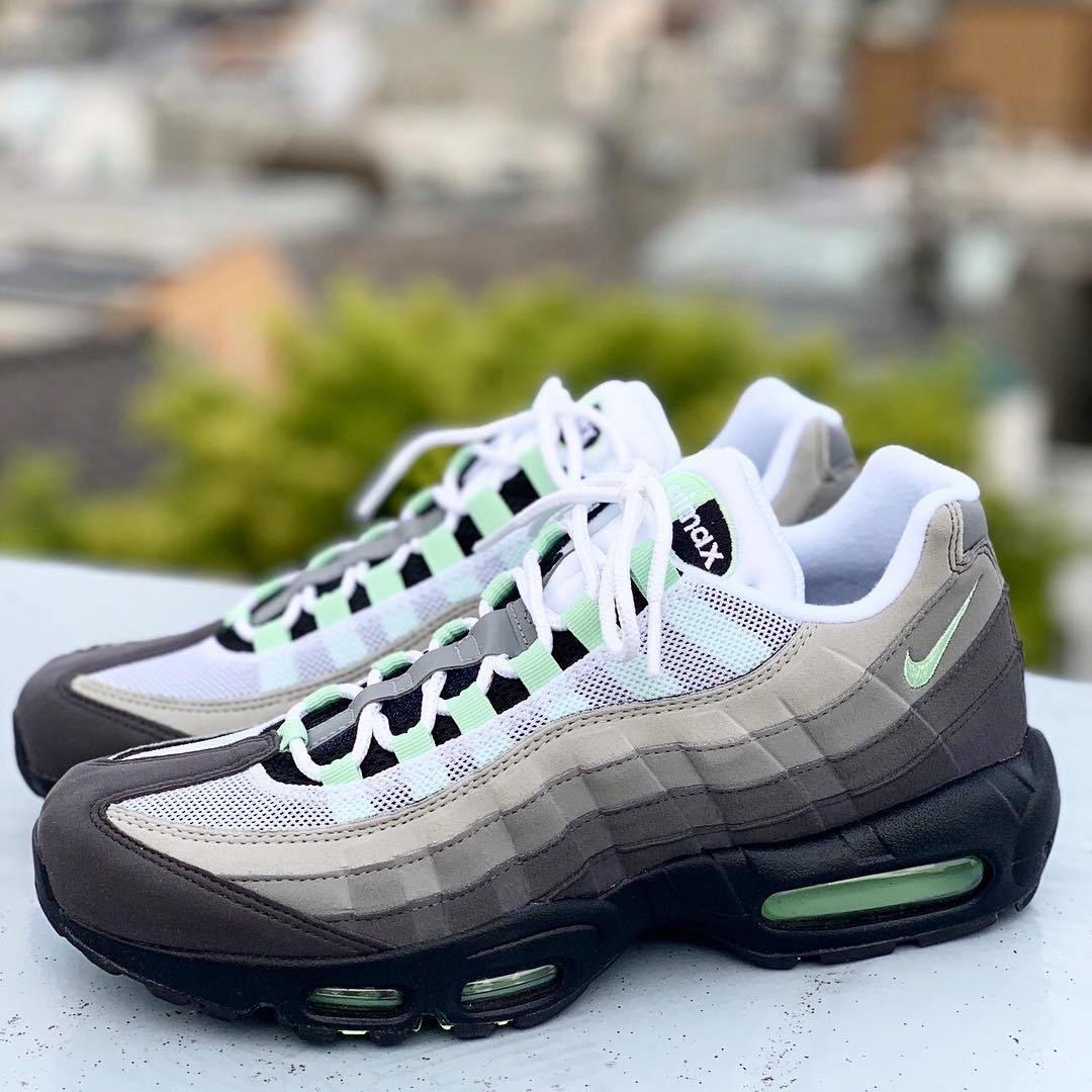 pick up ad6d8 ee4a7 NIKE AIR MAX 95 FRESH MINTが5 10、6 1に国内発売予定 直リンク有り