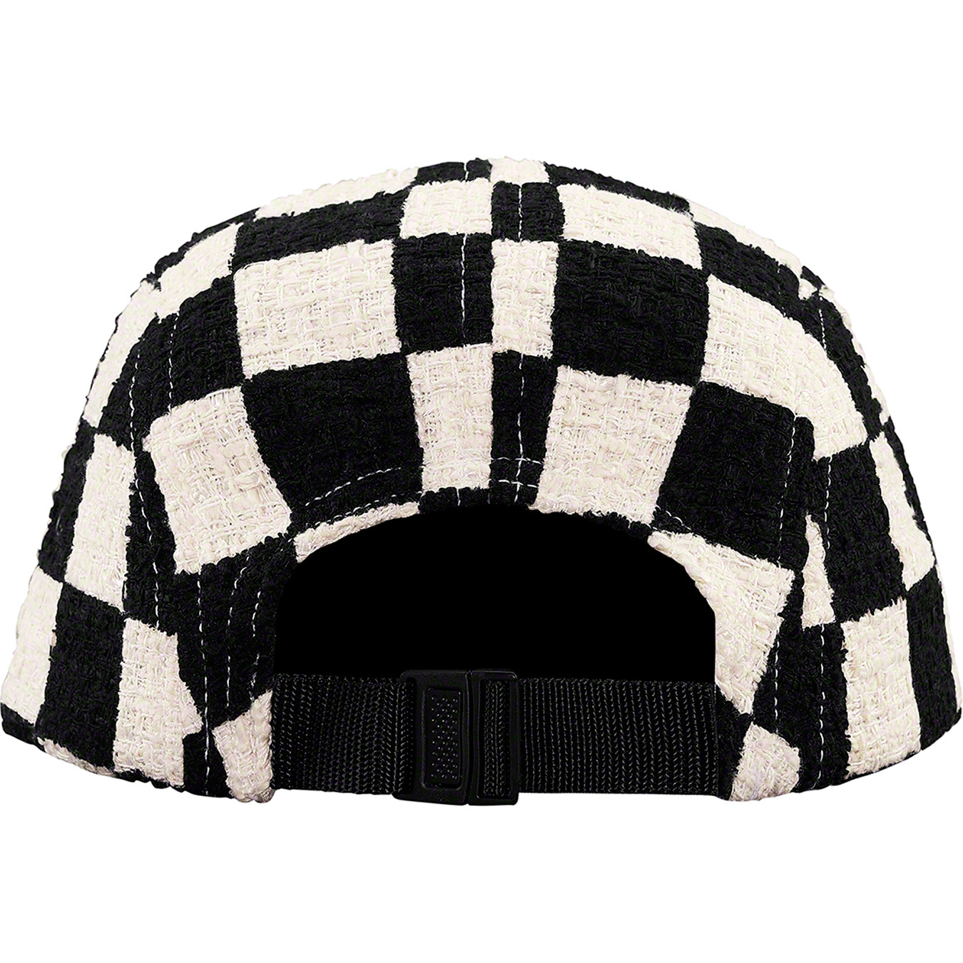supreme-19ss-spring-summer-checkerboard-boucle-camp-cap
