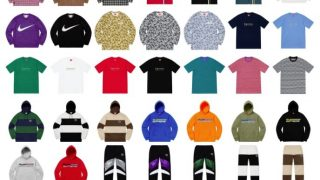 Supreme 公式通販サイトで5月25日 Week13に発売予定の新作アイテム【NIKEのコラボアイテムなど】