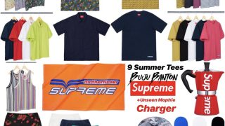Supreme 公式通販サイトで6月29日 Week18に発売予定の新作アイテム【サマーTシャツなど】