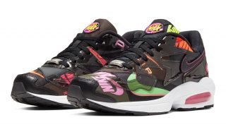 atmos × NIKE AIR MAX 2 LIGHT BLACKが6月に国内発売予定