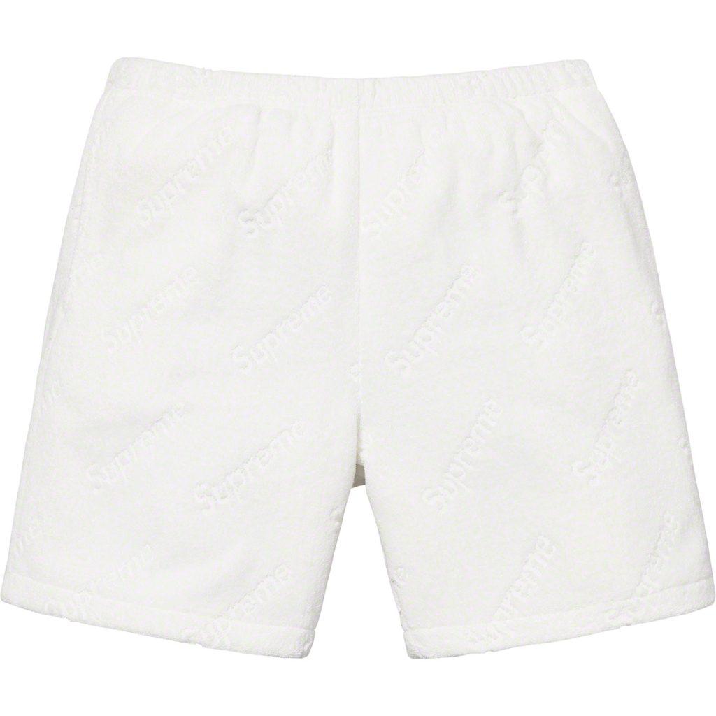 supreme-19ss-spring-summer-terry-jacquard-logo-short