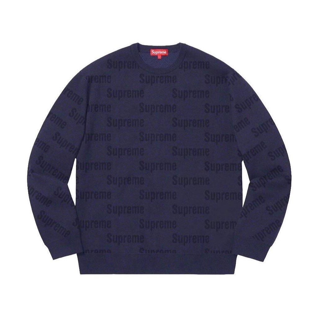 supreme-2019aw-autumn-winter-repeat-logo-tonal-sweater