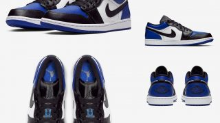 NIKE AIR JORDAN 1 LOW ROYALが近日発売予定