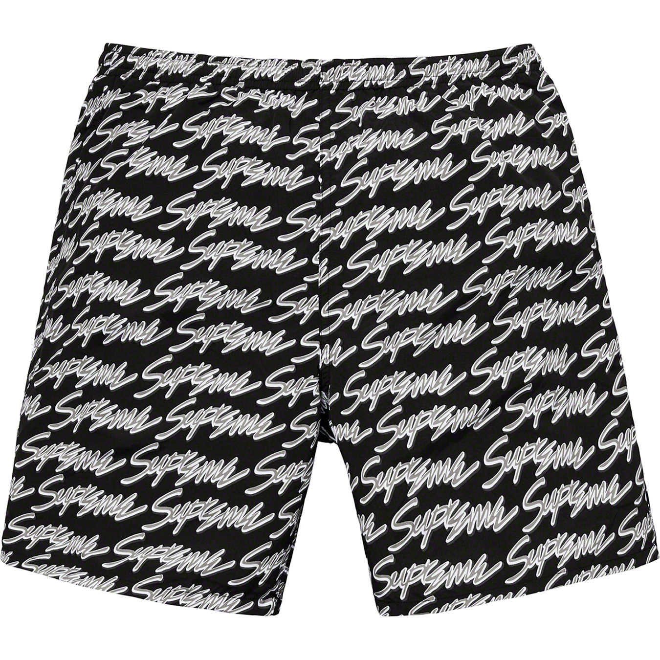 supreme-19ss-spring-summer-signature-script-logo-water-short