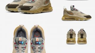TRAVIS SCOTT × NIKE AIR MAX 270 REACT CACTUS TRAILSが5/29に国内発売予定【直リンク有り】