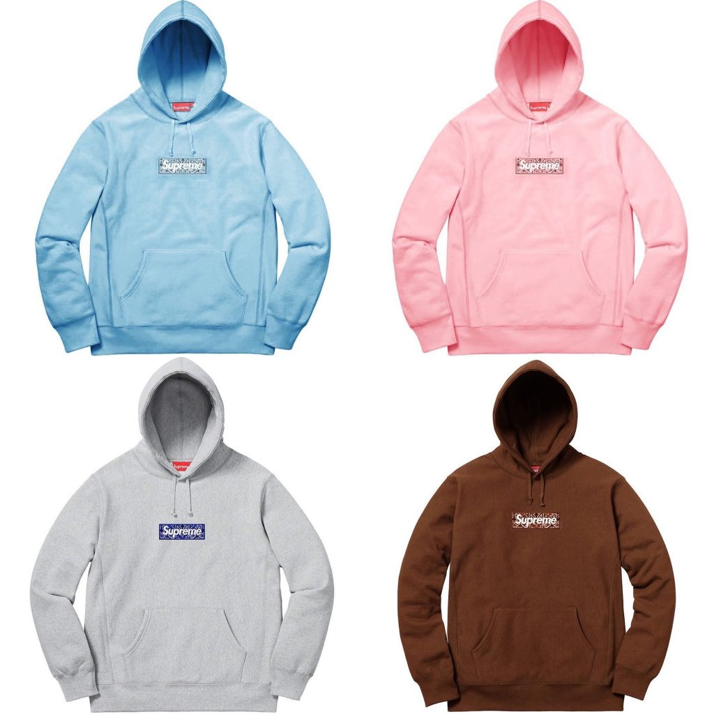 supreme-19aw-19fw-autumn-winter-bandana-box-logo-hooded-sweatshirt