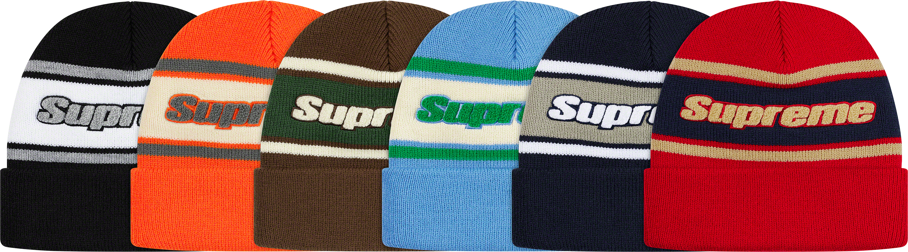 supreme-19aw-19fw-fall-winter-chenille-stripe-beanie