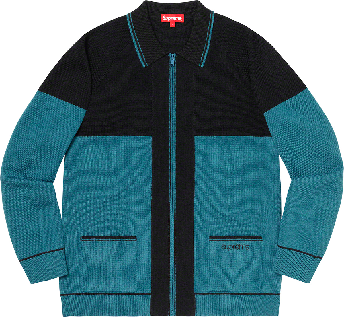 supreme-19aw-19fw-fall-winter-color-blocked-zip-up-sweater