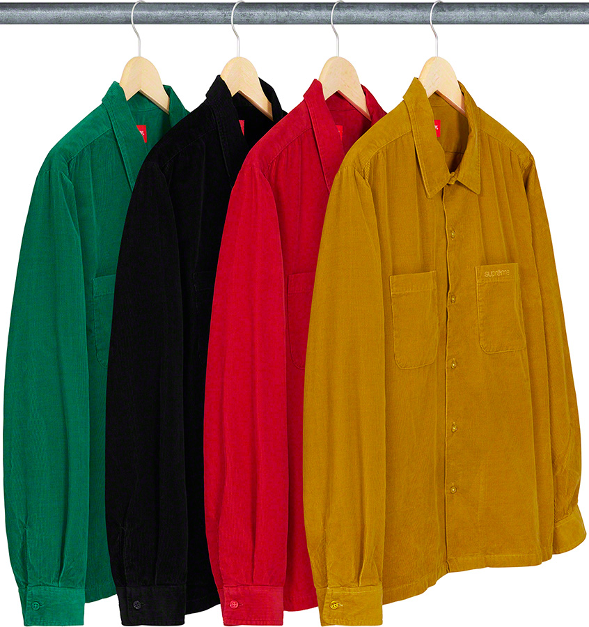 supreme-19aw-19fw-fall-winter-corduroy-shirt