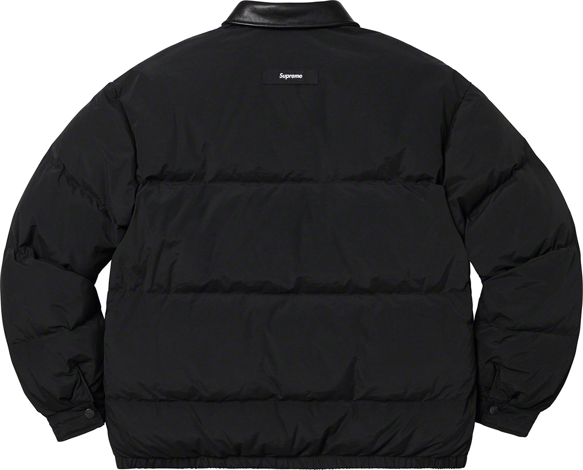 supreme-19aw-19fw-fall-winter-leather-collar-puffy-jacket