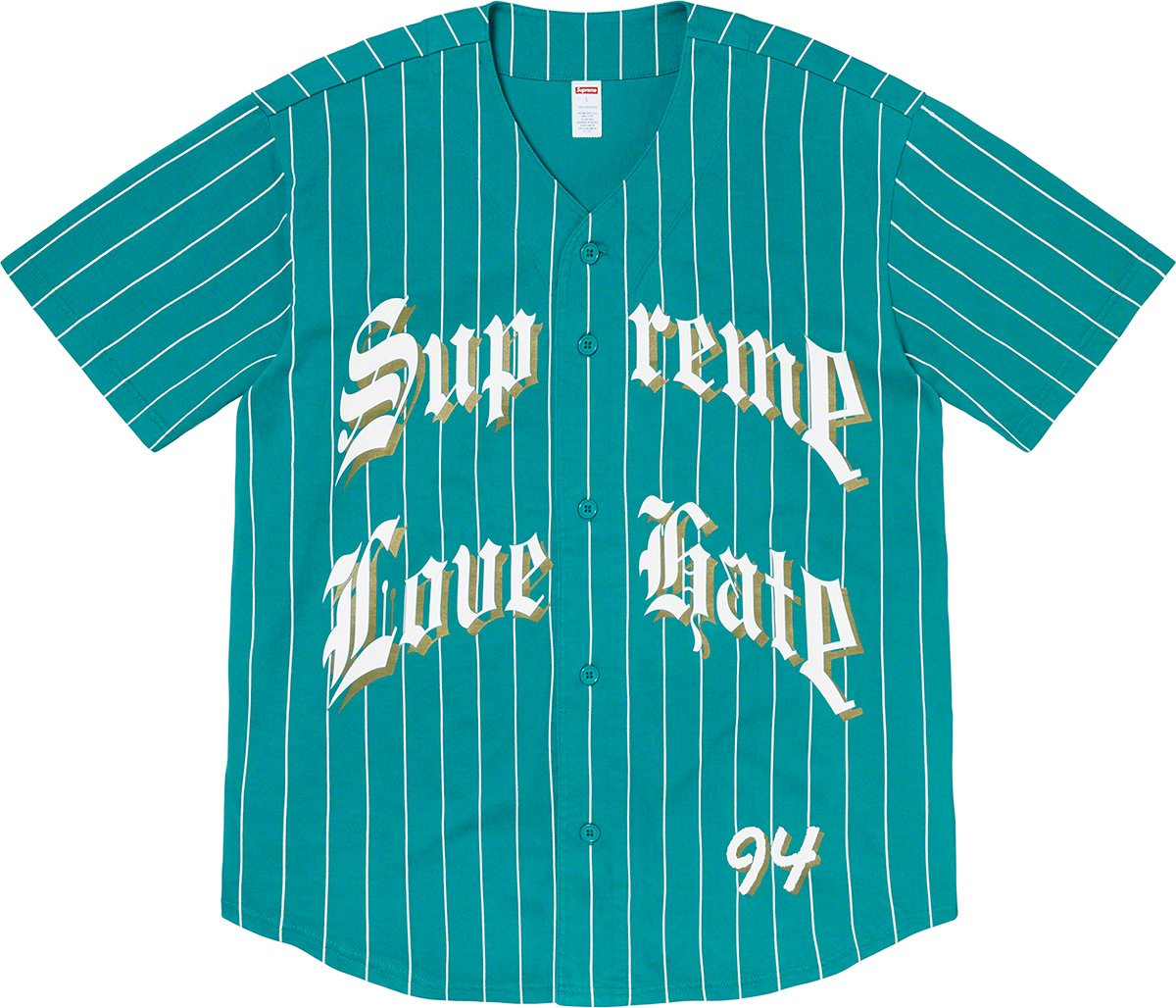 supreme-19aw-19fw-fall-winter-love-hate-baseball-jersey