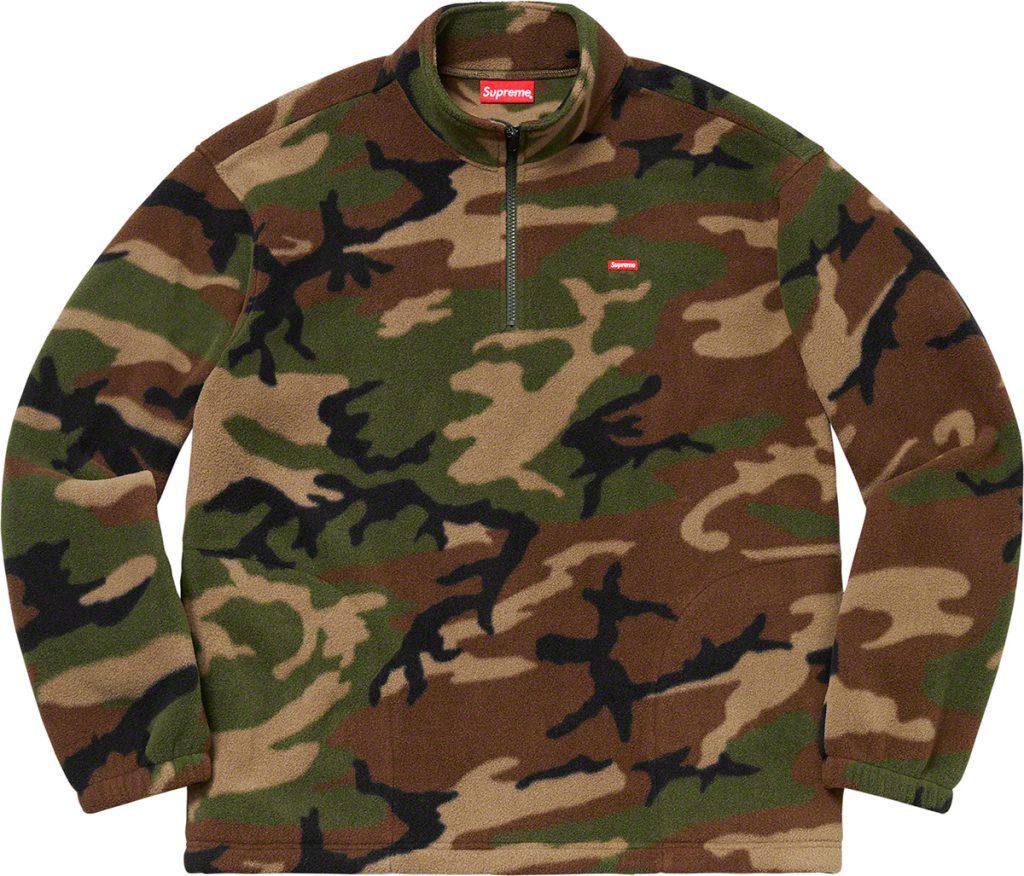 supreme-19aw-19fw-fall-winter-polartec-half-zip-pullover