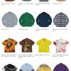 Supreme 19AW コレクションのシャツ一覧ページ