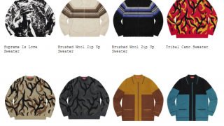 Supreme 19AW コレクションのトップス&セーター一覧ページ