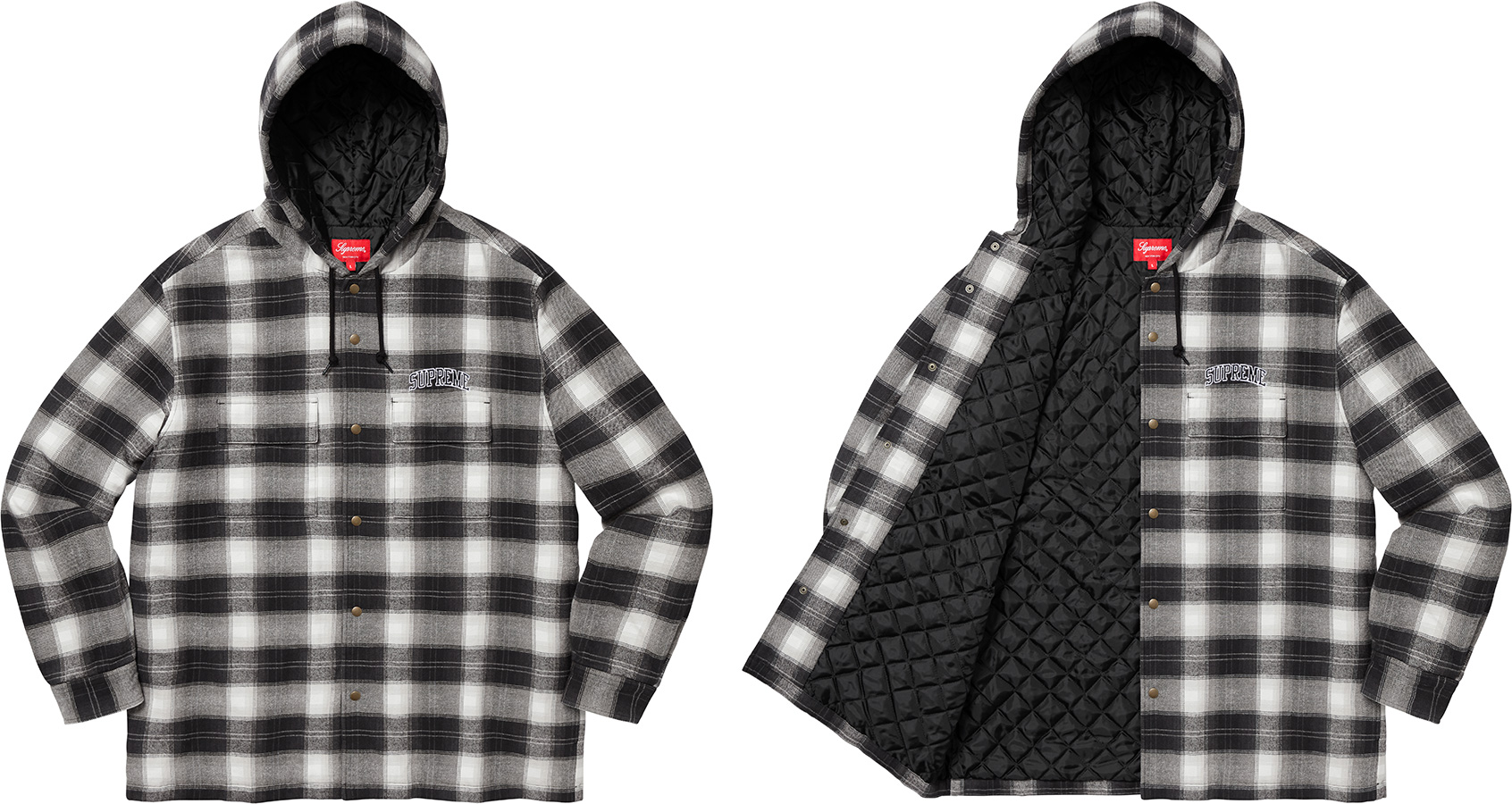 supreme-19aw-19fw-fall-winter-quilted-hooded-plaid-shirt