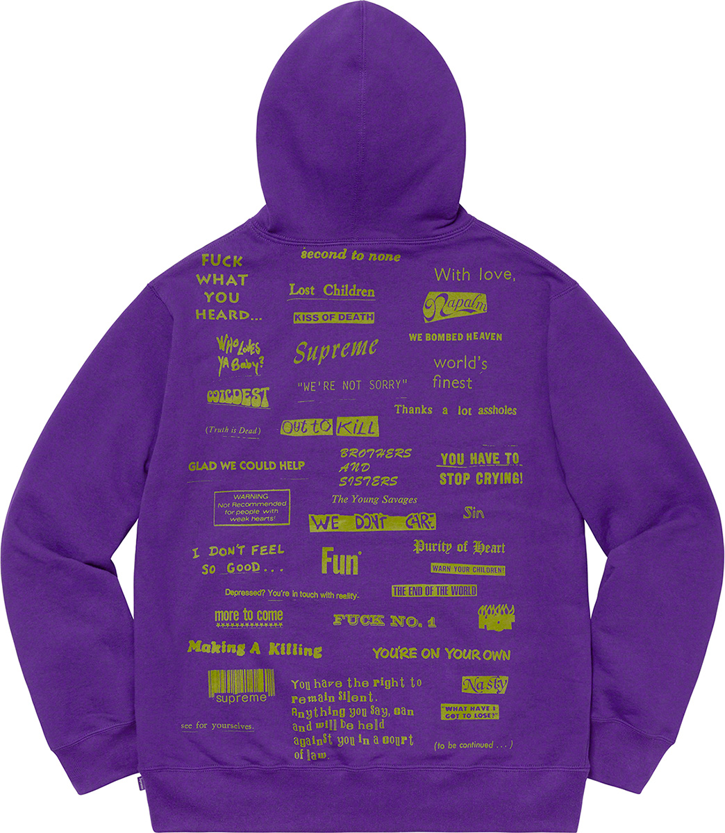 supreme-19aw-19fw-fall-winter-stop-crying-hooded-sweatshirt