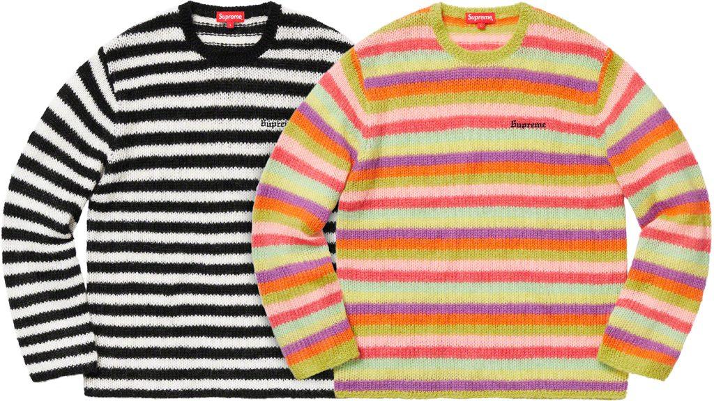 supreme-19aw-19fw-fall-winter-stripe-mohair-sweate