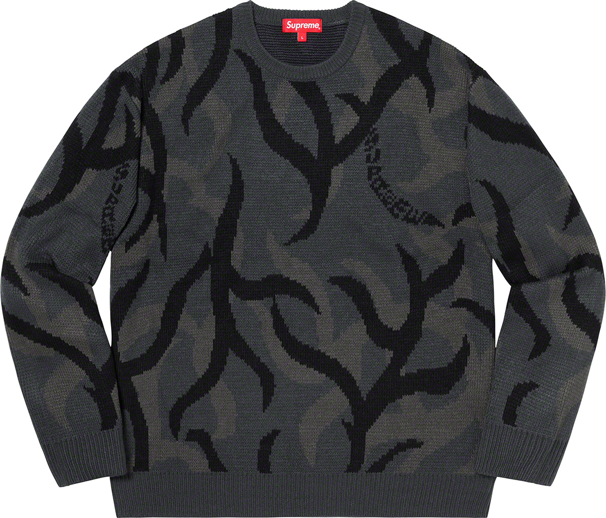 supreme-19aw-19fw-fall-winter-tribal-camo-sweater