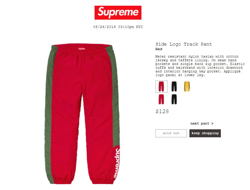 supreme-19aw-19fw-launch-20190824-week1-release-items-pants-shorts