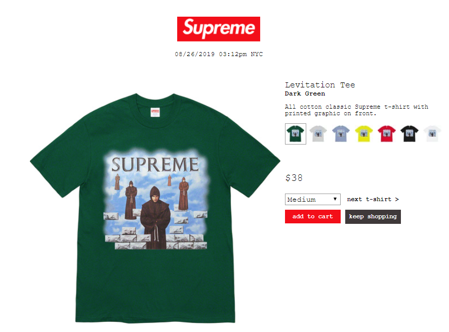 supreme-19aw-19fw-launch-20190824-week1-release-items-t-shirts