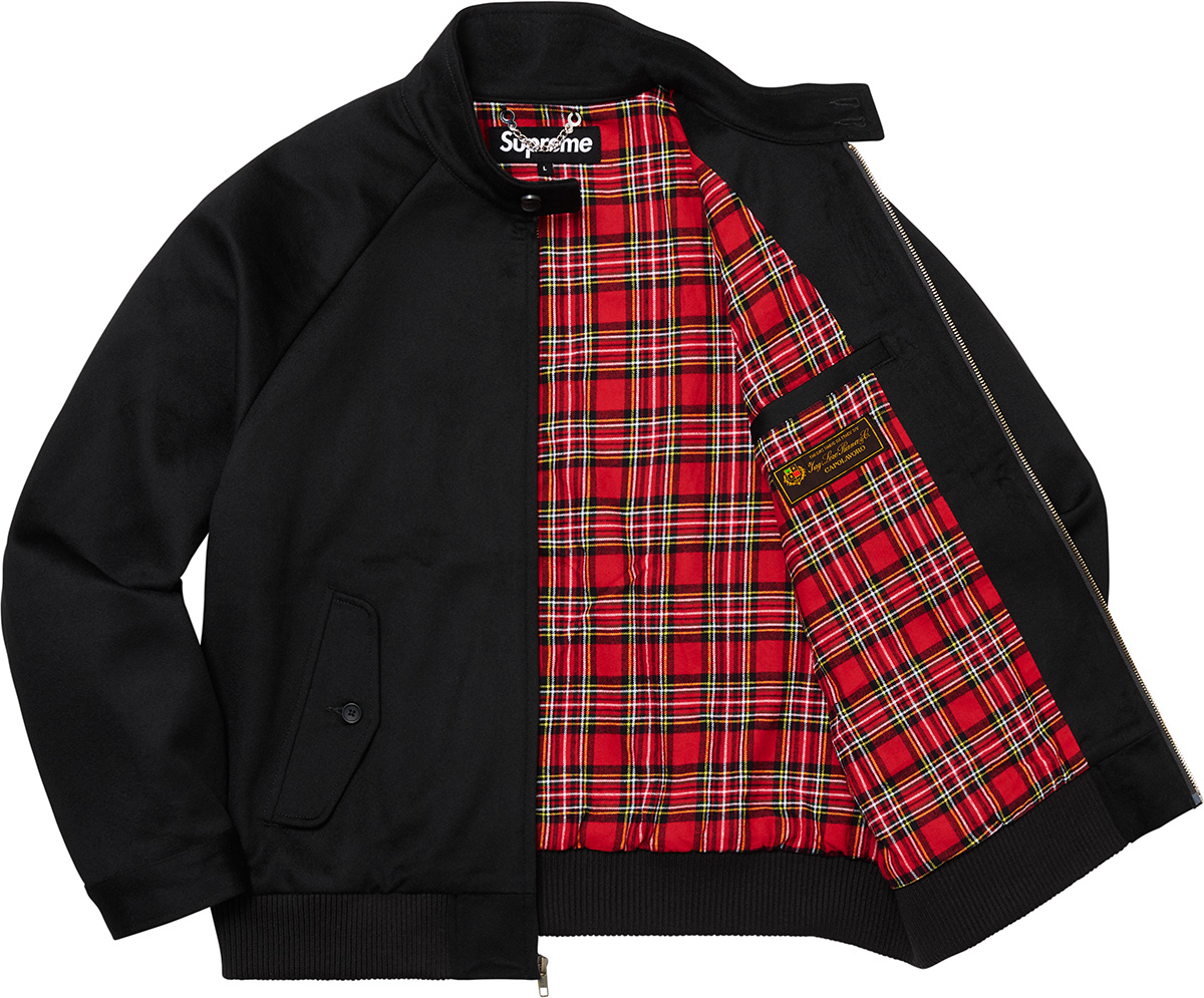 supreme-19aw-19fw-fall-winter-wool-harrington-jacket