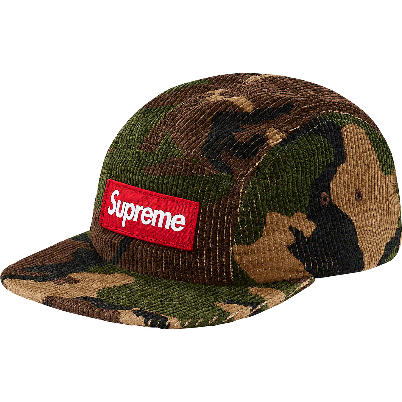 supreme-19aw-19fw-fall-winter-camo-corduroy-camp-cap