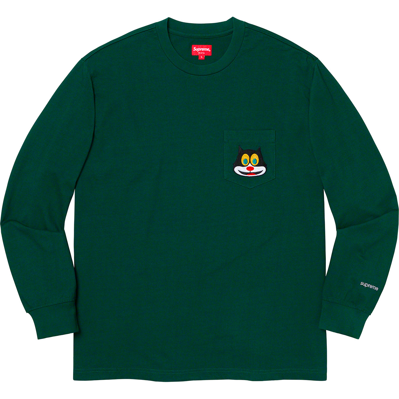 supreme-19aw-19fw-fall-winter-cat-l-s-pocket-tee