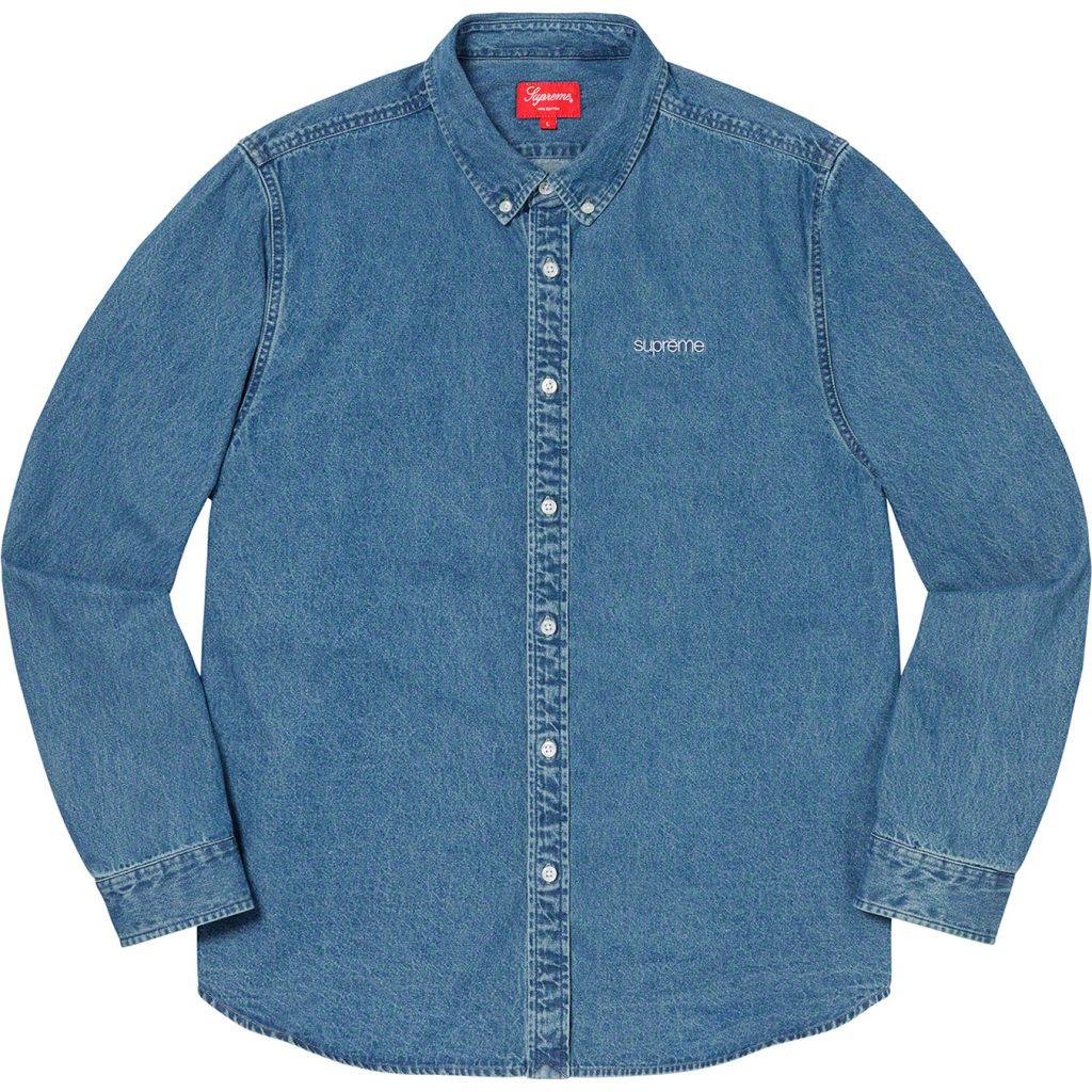 supreme-19aw-19fw-fall-winter-denim-shirt