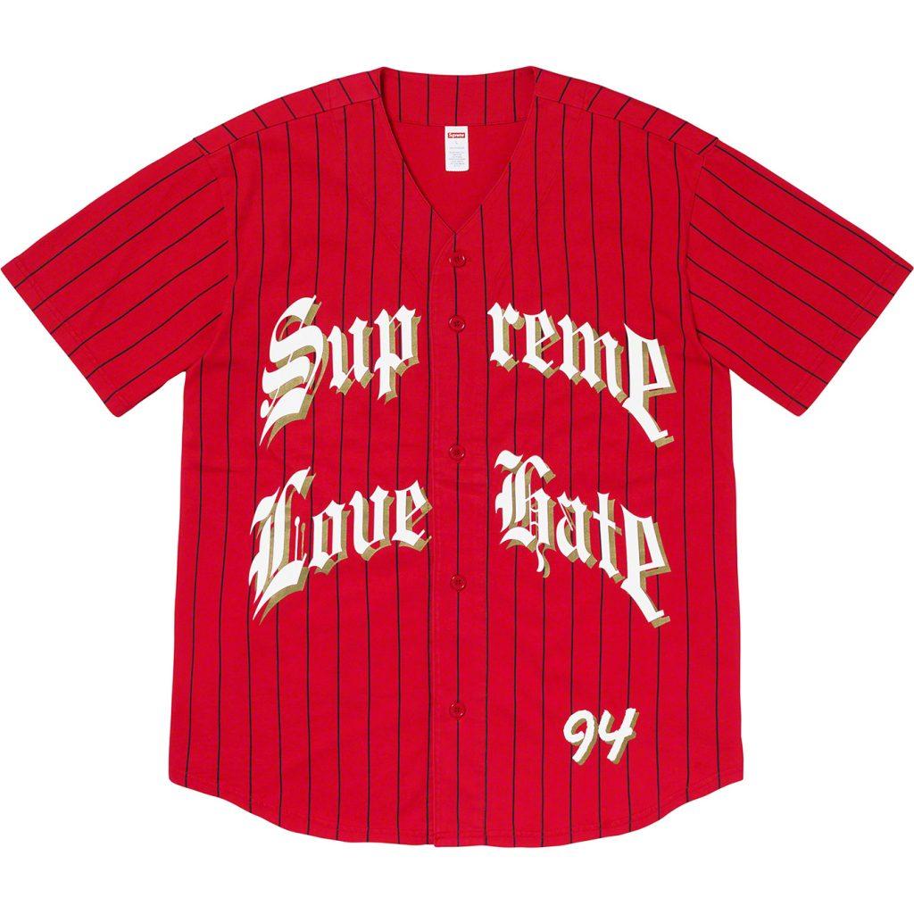 supreme-19aw-19fw-fall-winter-love-hate-baseball-jersey
