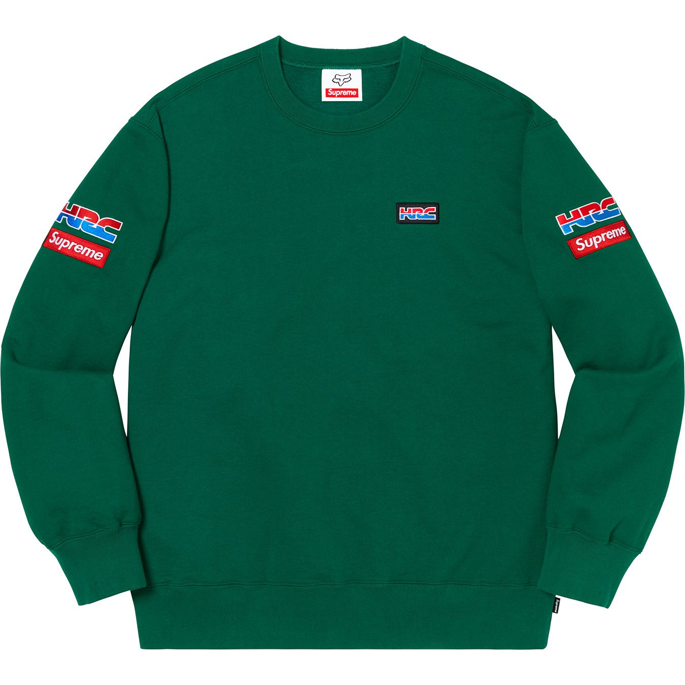 supreme-19aw-19fw-honda-fox-racing-collaboration-release-20191005-week6-crewneck