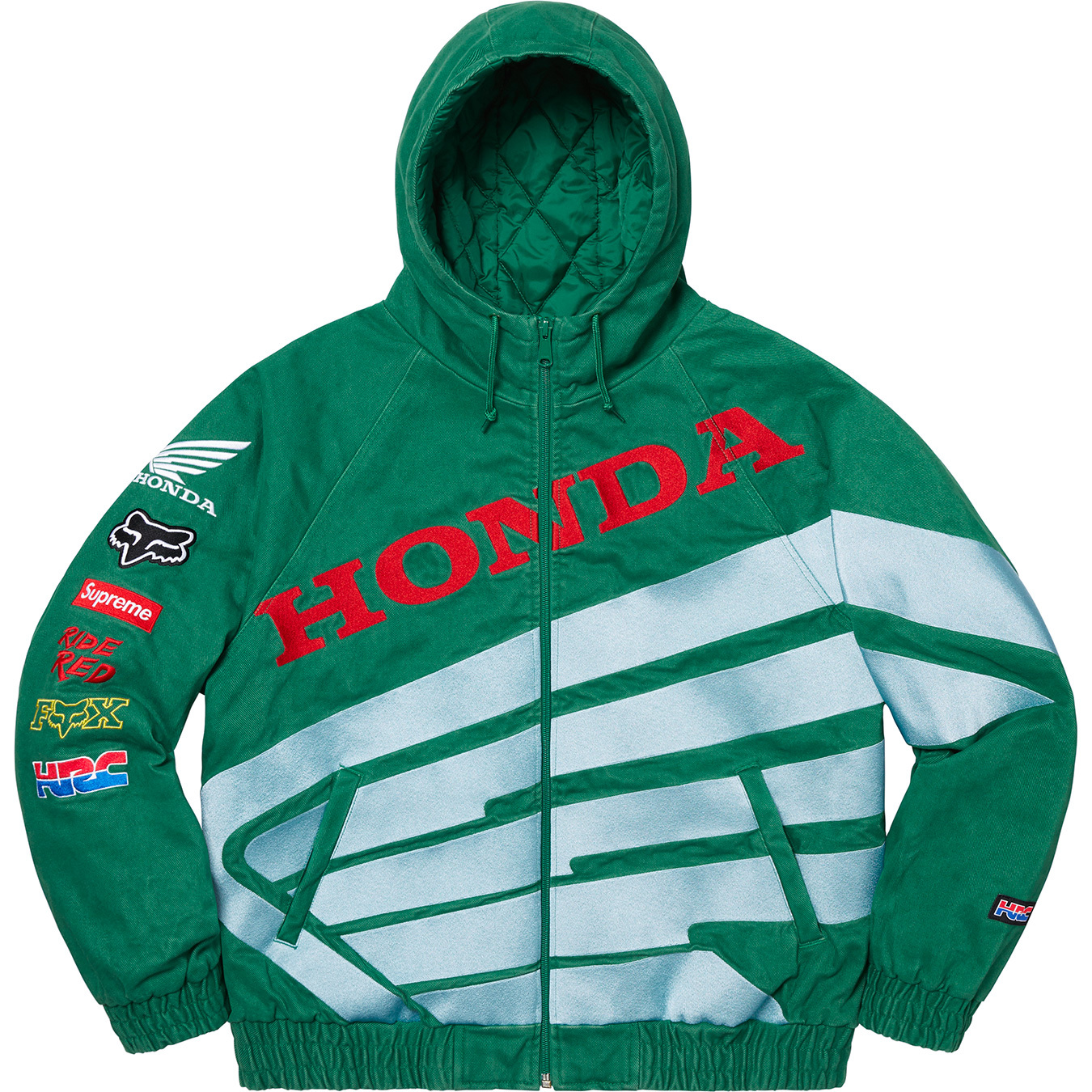 supreme-19aw-19fw-honda-fox-racing-collaboration-release-20191005-week6-puffy-zip-up-work-jacket