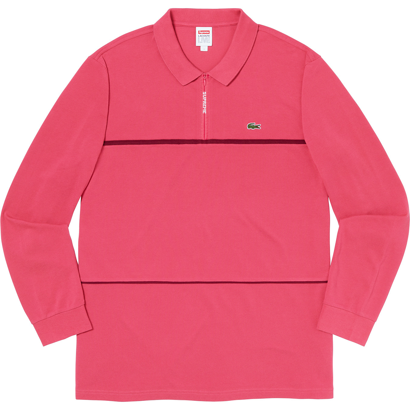 supreme-lacoste-19aw-19fw-collaboration-release-20190928-week5-pique-zip-l-s-polo