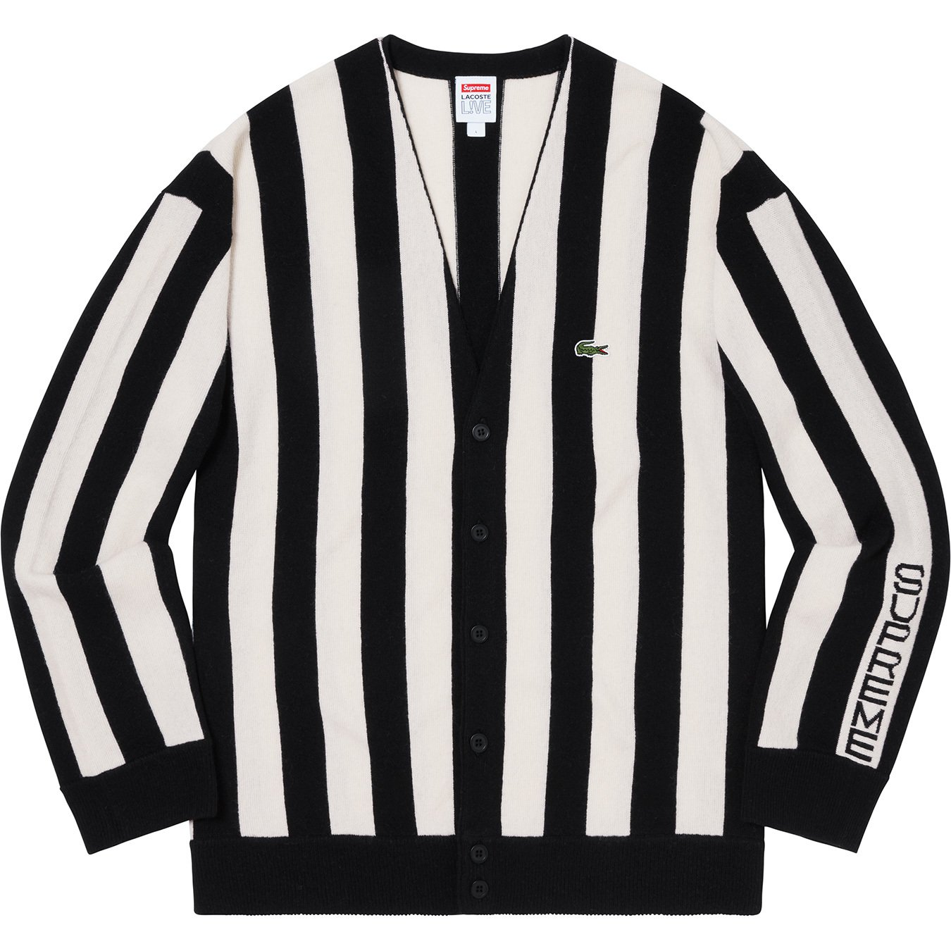 supreme-lacoste-19aw-19fw-collaboration-release-20190928-week5-stripe-cardigan