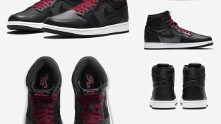 NIKE AIR JORDAN 1 RETRO HIGH OG BLACK SATINが1/18に国内発売予定【直リンク有り】