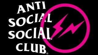 fragment design × anti social social clubの2019コラボアイテムが10/19に発売予定
