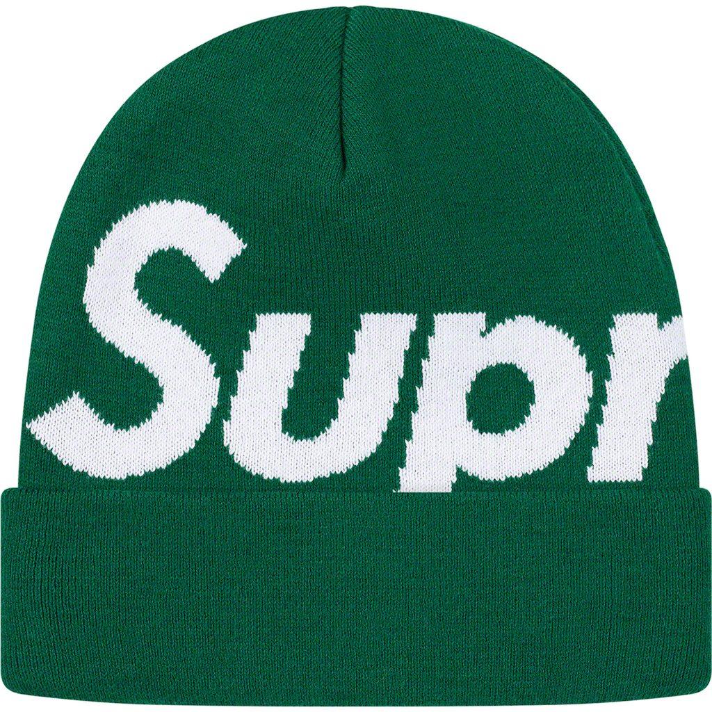 supreme-19aw-19fw-fall-winter-big-logo-beanie