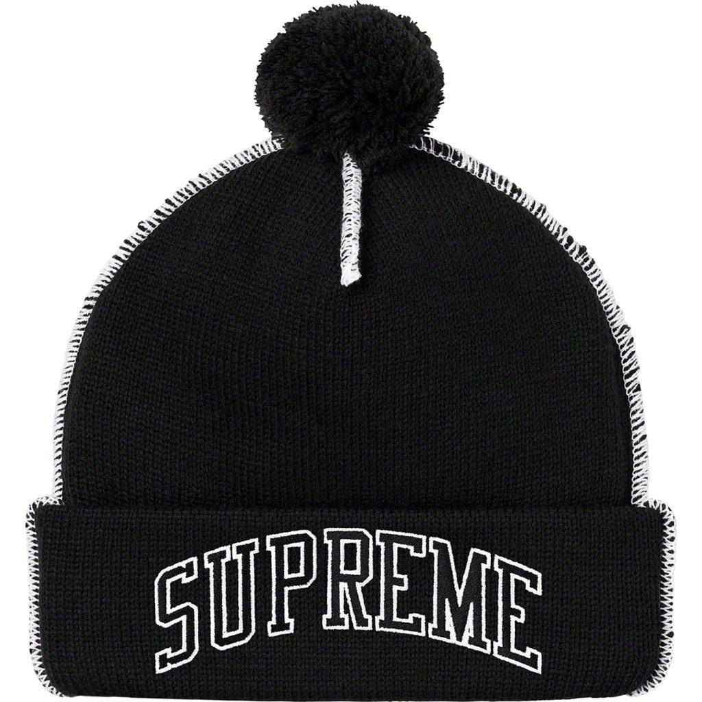 supreme-19aw-19fw-fall-winter-contrast-stitch-beanie